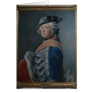 Frederick II the Great of Prussia, after 1753 Cards