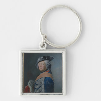 Frederick II the Great of Prussia, after 1753 Keychain