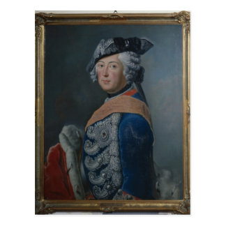 Frederick II the Great of Prussia, after 1753 Postcards