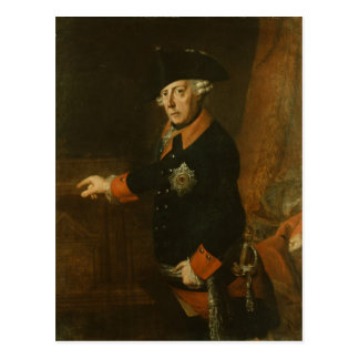 Frederick II The Great of Prussia, c.1763 Postcard