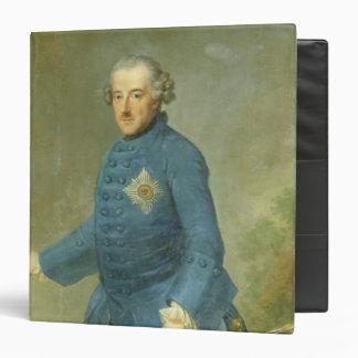 Frederick II the Great of Prussia, c.1770 3 Ring Binders