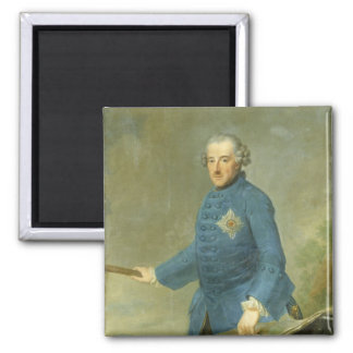 Frederick II the Great of Prussia, c.1770 Fridge Magnets