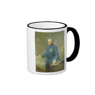 Frederick II the Great of Prussia, c.1770 Ringer Coffee Mug