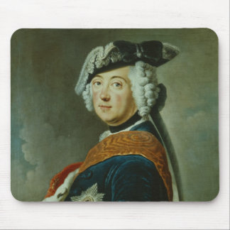 Frederick II the Great of Prussia Mouse Pad
