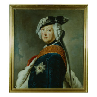 Frederick II the Great of Prussia Posters