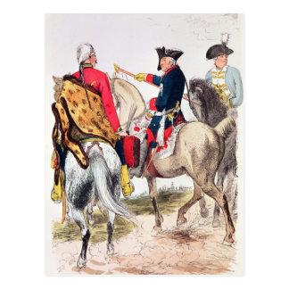 Frederick II  the Great Postcard