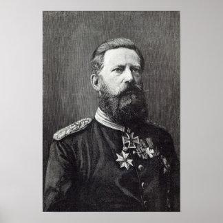 """Frederick III, a partir de """"hora del ocio"""", 1888 Impresiones"""