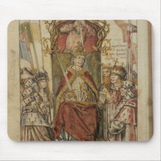 Frederick III surrounded by Prince Electors Mouse Pad