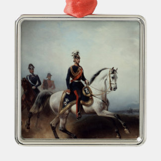 Frederick III Wilhelm on the Bornstedter Field Metal Ornament