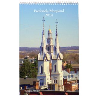 Frederick Maryland 2014 Calendar