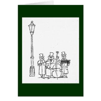 Frederick & Nelson Strolling Minstrels Greeting Card