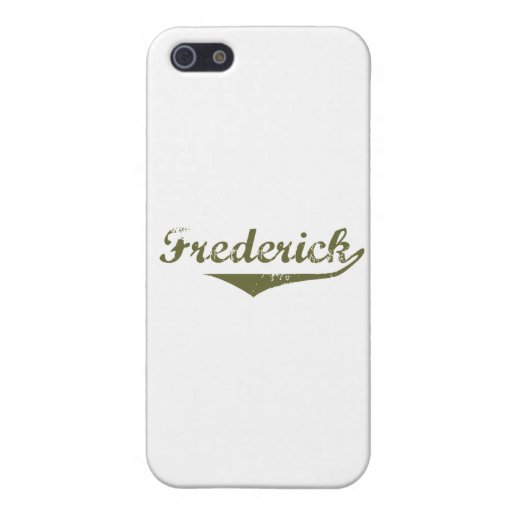 Frederick Revolution t shirts Case For iPhone 5