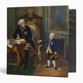 Frederick the Great and his Grandnephew 3 Ring Binder