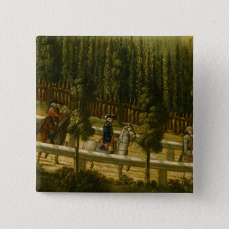 Frederick the Great on Horseback Pinback Button