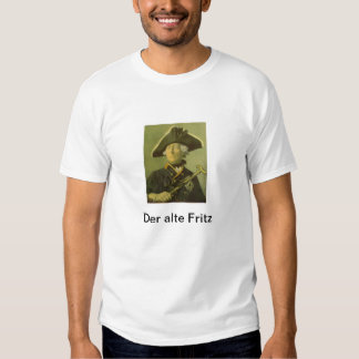 Frederick the Great Tee Shirt