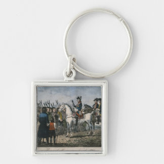 Frederick the Great with the farmers Keychain