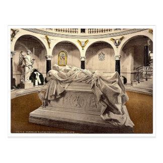Frederick the Great's Mausoleum, Potsdam, Berlin, Postcard