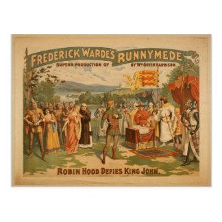 Frederick warde postcard