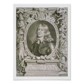 Frederick William (1620-88) Elector of Brandenburg Poster