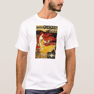 Frederick Winthrop Ramsdell Bicycle Art T-Shirt