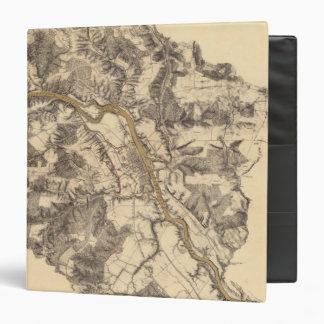 Fredericksburg, Virginia 3 Ring Binder