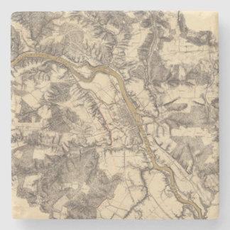 Fredericksburg, Virginia Stone Coaster