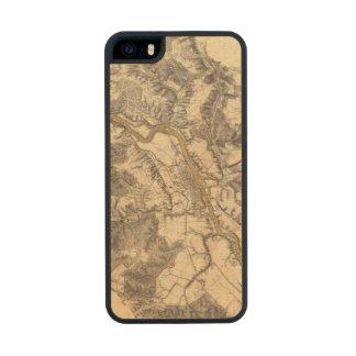 Fredericksburg, Virginia Carved® Maple iPhone 5 Case