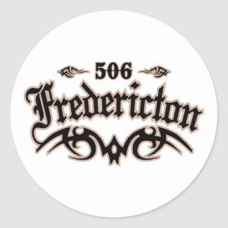 Fredericton 506 stickers