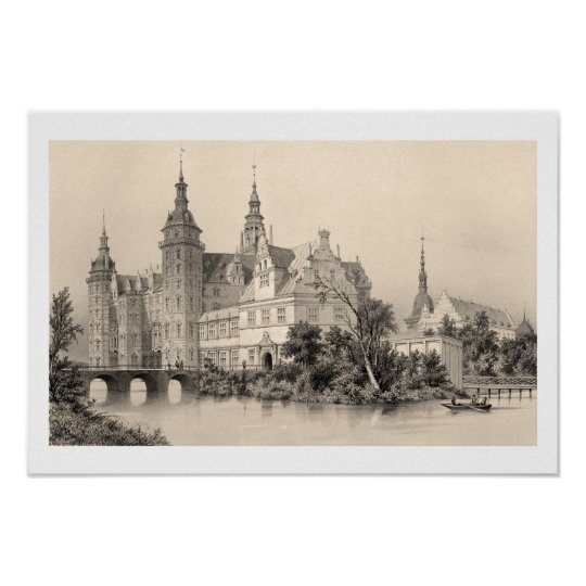 Frederiksborg Palace Poster
