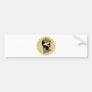 FredHead for FredStock Bumper Sticker