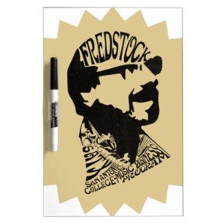 FredHead Logo Dry-Erase Whiteboard