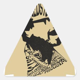 FredHead Logo Triangle Sticker