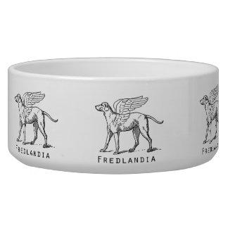 Fredlandia Winged Dog Bowl