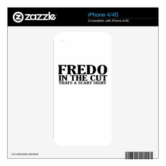 FREDO IN THE CUT THATS A SCARY SIGHT T-Shirts.png Skin For The iPhone 4