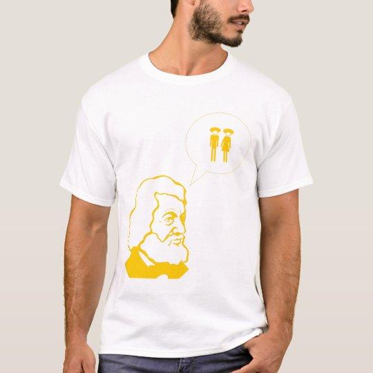 fredrick douglass says T-Shirt