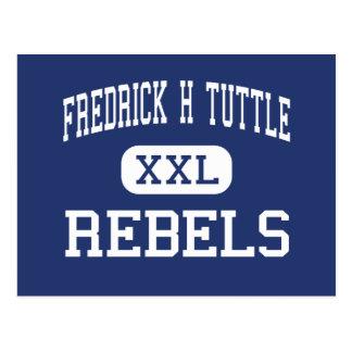 Fredrick H Tuttle Rebels South Burlington Postcard