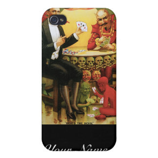 Fredrik The Great ~ Magician Vintage Magic Act iPhone 4/4S Cover
