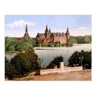 Fredriksborg Castle Copenhagen Denmark Postcard