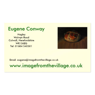 FredsCard 173, Eugene Conway, www.imagefromthev… Tarjetas De Visita