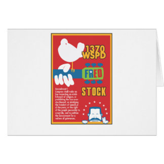 FredStock Greeting Card