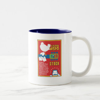 FredStock Two-Tone Coffee Mug