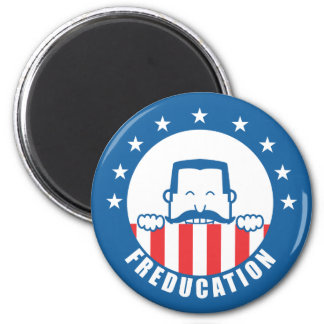 Freducation 2 Inch Round Magnet