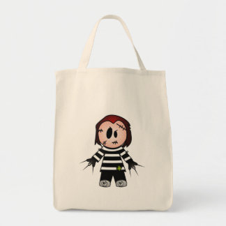 FREDWARD THE CUTE BUT SPOOKY FREAKY KID CANVAS BAG