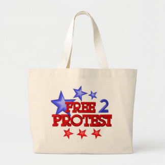 Free 2 Protest Occupy  on 30 items Tote Bags