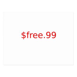 $free.99 postcard