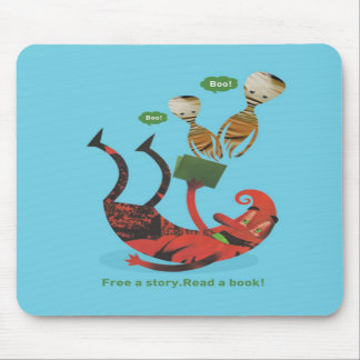 Free a story - read a book! mouse pad