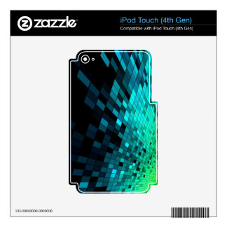 Free-Abstract-Background-Vector-Art ABSTRACT RANDO Decals For iPod Touch 4G