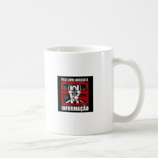 Free access to information coffee mug