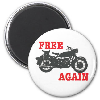 Free again 2 inch round magnet