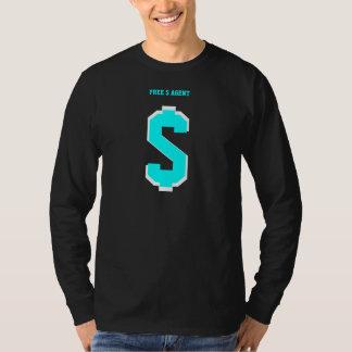 FREE $ AGENT GEAR,shadow,team,tee's,black T-shirt